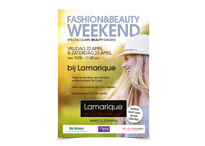Poster Lamarique Mode