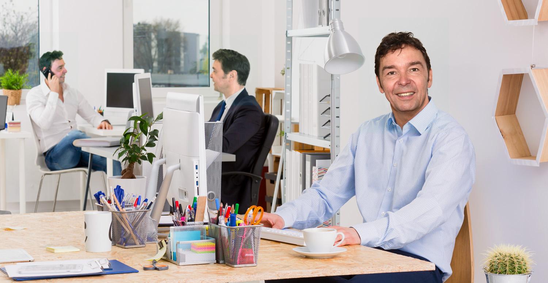 Creatief bureau met 3x Peter Vogelaar